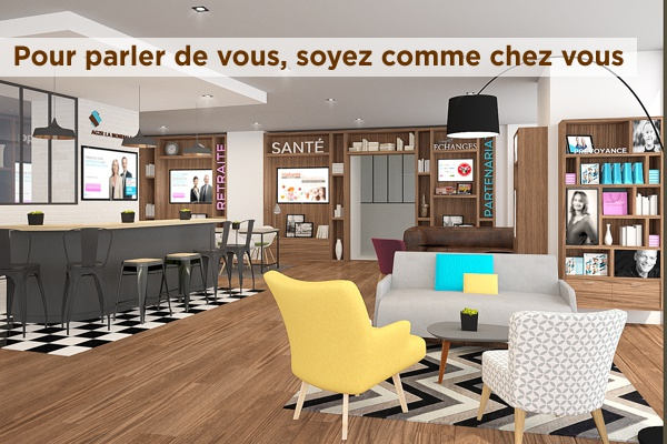 comme chez vous concept d 39 agences d 39 ag2r la mondiale viasant l 39 assurance en mouvement. Black Bedroom Furniture Sets. Home Design Ideas